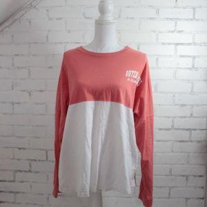 Tops - Outer Banks North Carolina Long Sleeve Tshirt